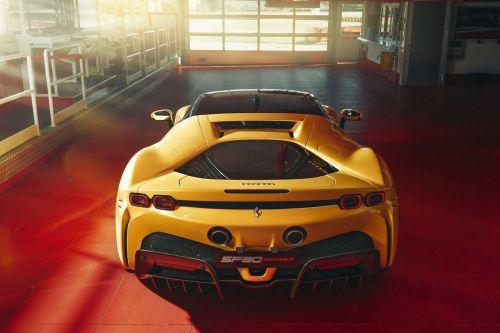 Ferrari готовит суперкар с четырьмя электромоторами
