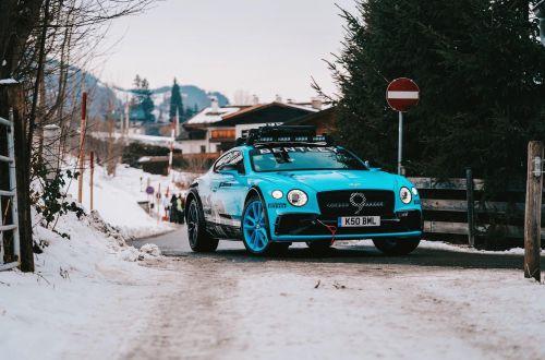 Bentley показала внедорожную модификацию Continental GT