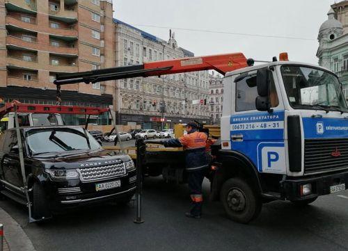 Во сколько в Киеве теперь обходится парковка в неположенном месте