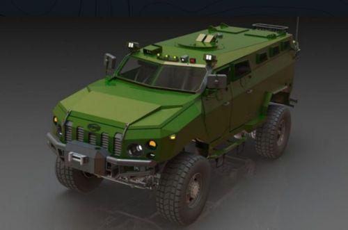 В Украине разрабатывают новый бронеавтомобиль