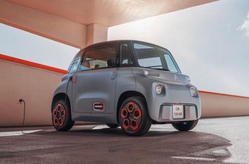 Citroen представил электромобиль за 6000 евро