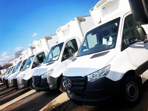 """Сеть """"Сільпо"""" закупила партию Mercedes-Benz Sprinter для доставки продуктов"""