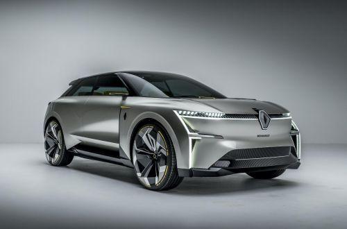 Renault показала концепт, который может раздвигаться в длину