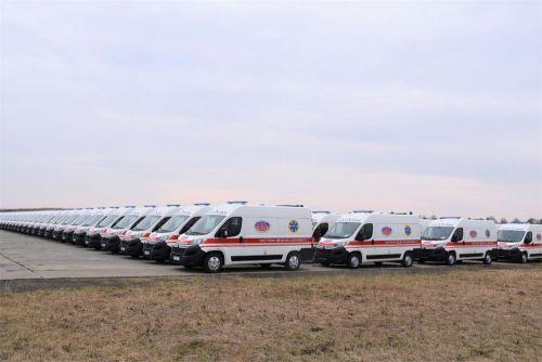 Винницкая область получила 86 карет скорой помощи Citroen Jumper