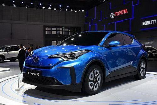 У Toyota C-HR появится электрическая версия