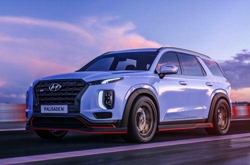 """Hyundai показал возможный дизайн """"заряженных"""" кроссоверов"""