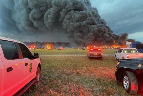 Пожар нанес крупнейший ущерб в истории каршеринга