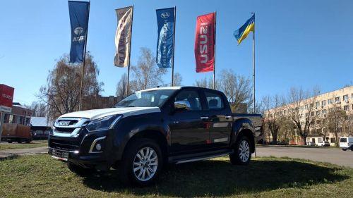 В Украине появились новые пикапы Isuzu D-Max - Isuzu