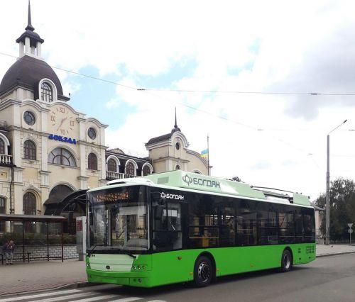 Стало известно, какие троллейбусы поставят в Луцк