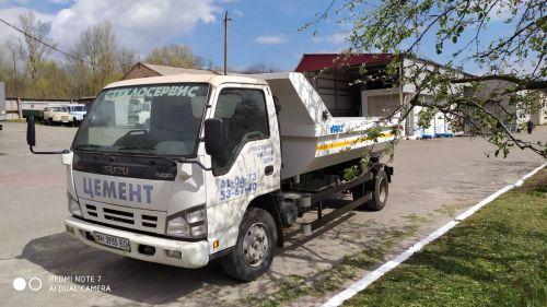 В Украине выпустили 5-кубовый самосвал на шасси Isuzu