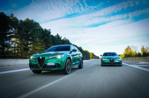 В честь 110-летия Alfa Romeo представила рестайлинговые Giulia и Stelvio Quadrifoglio