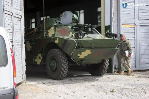 Президентский полк получил 5 отремонтированных БРДМ-2Л1