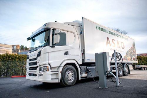 Scania поставит крупную партию электрогрузовиков