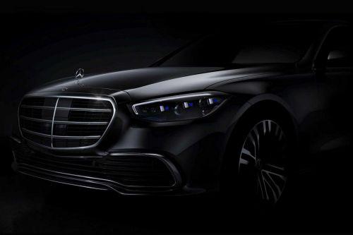 Mercedes-Benz показал первое фото нового поколения S-Class