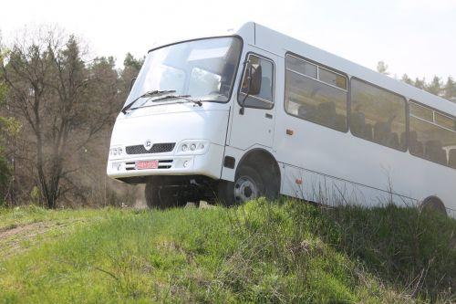 В Украине начали выпускать полноприводный автобус ATAMAN - ATAMAN
