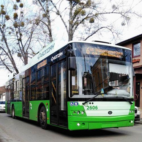 Харьков получил все 57 заказанных троллейбусов Богдан Т70117