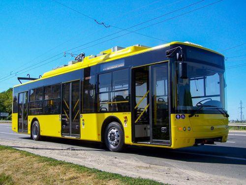 В Сумы поставят 19 троллейбусов «Богдан»