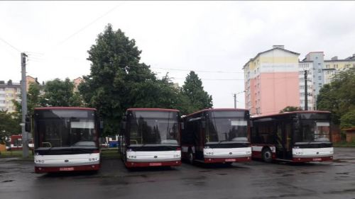 Ивано-Франковск уже получает заказанные автобусы Богдан А701 - Богдан