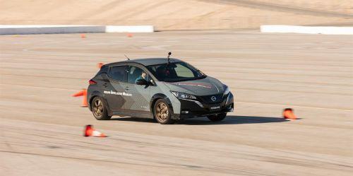 Nissan представляент новую систему управления электромобилем Nissan e-4ORCE