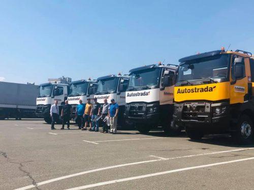 """Компания """"Автострада"""" предпочла в этом году самосвалы Renault Trucks"""