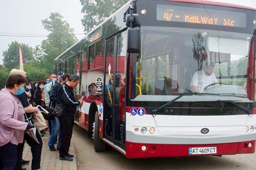 Как в Ивано-Франковске используют новые автобусы «Богдан»