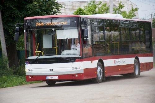 Как в Ивано-Франковске используют новые автобусы «Богдан» - Богдан