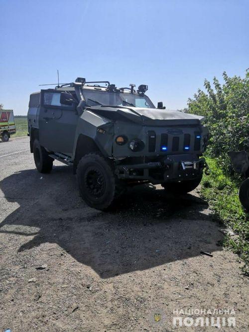 """Военные разбили сразу три новых бронеавтомобиля """"Новатор"""""""