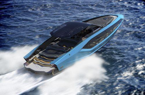 Lamborghini представила скоростной катер в стиле своего спорткара