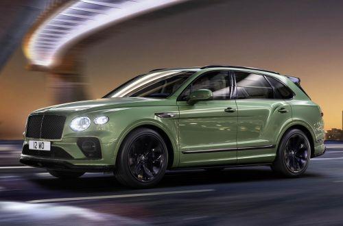 Bentley Bentayga подвергли основательному рестайлингу