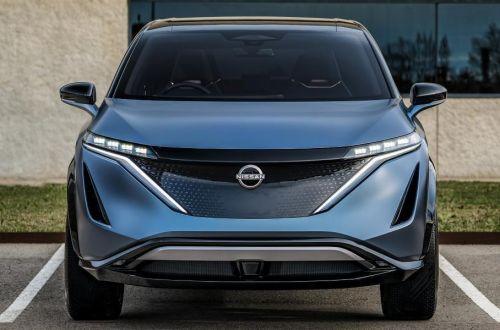 Что уже известно про электро кроссовер Nissan Ariya
