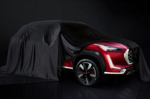 Nissan готовит к дебюту компактный кроссовер Magnite
