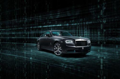 В Rolls-Royce Wraith зашифровали секретное послание