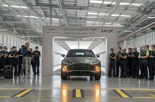 Aston Martin начал выпускать кроссовер DBX на новом заводе