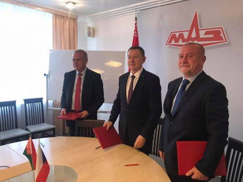Tatra Trucks и МАЗ подписали меморандум о сотрудничестве