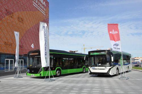 Беларусь продемонстрировала какой электротранспорт готовы выпускать ее предприятия