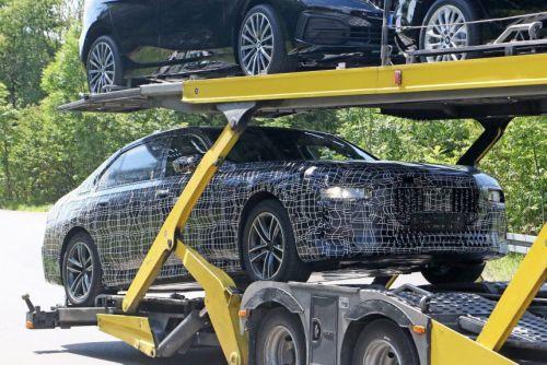 BMW уже тестирует новое поколение 7-серии