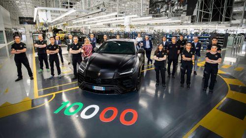 Lamborghini выпустила 10 000-ый Urus