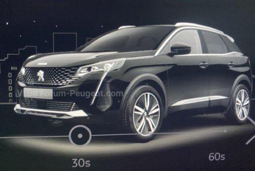 Каким будет обновленный Peugeot 3008