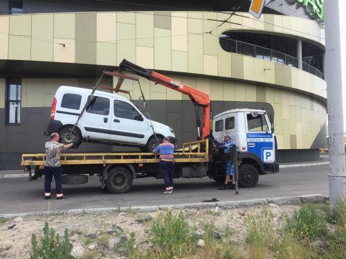 В Киеве только за июль эвакуировали 5585 автомобилей.