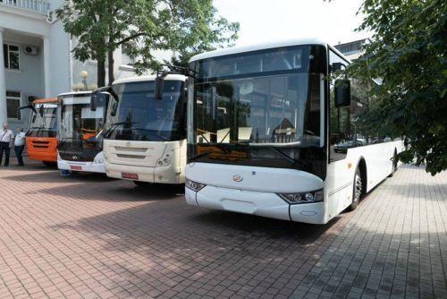 ЗАЗ впервые показал 12-метровый автобус