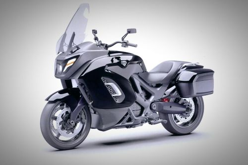 В России будут выпускать электрические мотоциклы сопровождения под брендом Aurus - Днепр
