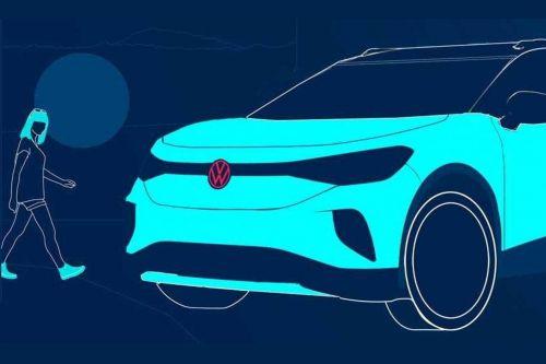 Volkswagen показал изображения нового электрокроссовера ID.4