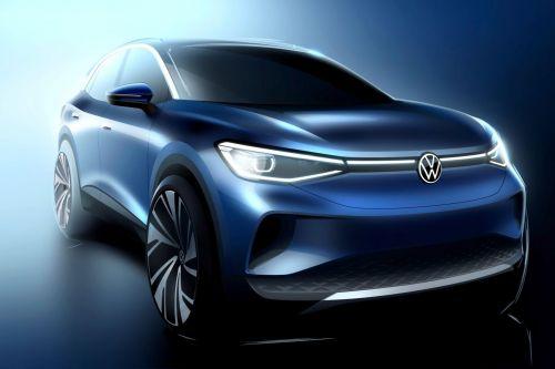 Volkswagen показал облик будущего электрического кроссовера  ID.4, дебют которого запланирован на сентябрь