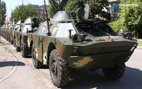 Николаевский бронетанковый завод модернизировал 50 единиц БРДМ-2Л1