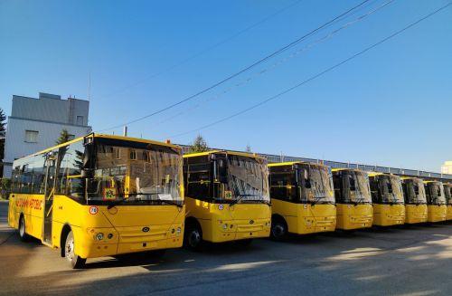 Учеников Ровенской области будут возить в школы на новых «Богданах»