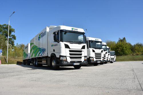 Для транспортировки продуктов питания операторы все чаще выбирают Scania