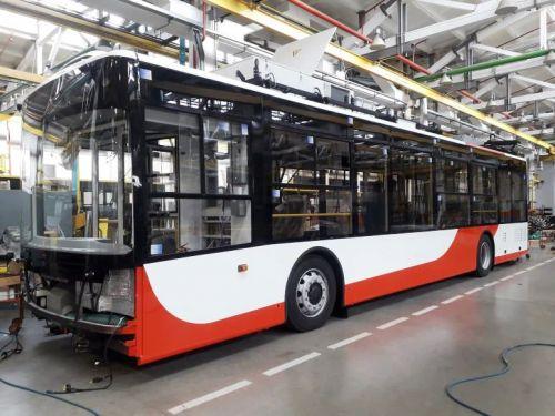 Для Луцка уже выпустили первые два троллейбуса Богдан Т70117