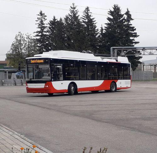 Руководство Луцка уже протестировали новые троллейбусы для города
