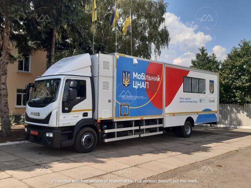 Мобильные центры админуслуг начали строить на шасси IVECO Eurocargo