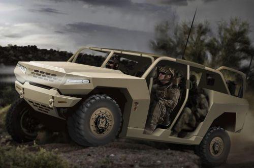 Kia активизирует разработку армейских автомобилей - Kia
